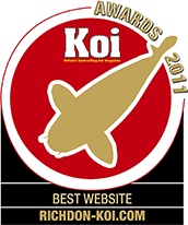 Koi Magazine's Best Website of 2011